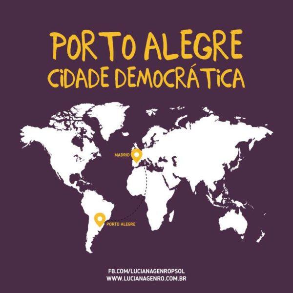 Luciana Genro foi convidada a participar de evento que tem entre seus organizadores a prefeitura de Madrid