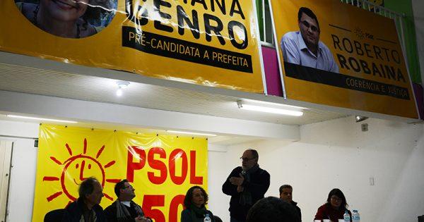 PSOL lança pré-candidatura de Roberto Robaina a vereador de Porto Alegre