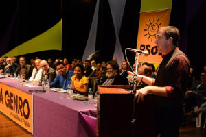 O jornalista Glenn Greenwald prestou novamente seu apoio a Luciana Genro | Foto: Fernanda Piccolo