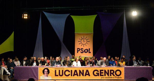 Convenção do PSOL oficializa nome de Luciana Genro para a prefeitura de Porto Alegre
