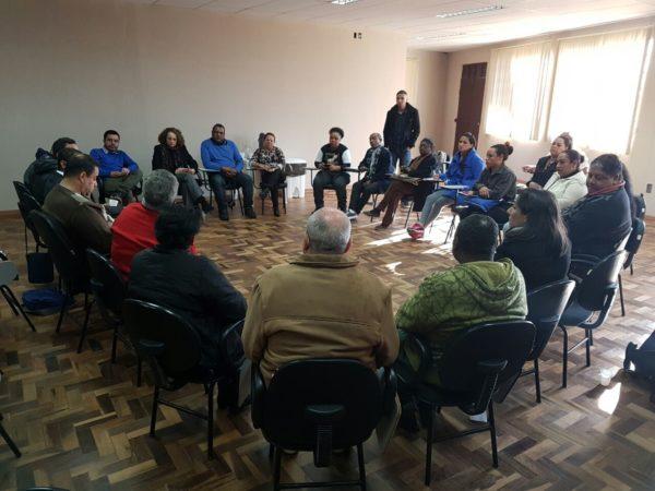 Líderes de diversos segmentos participaram do encontro | Foto: Alvaro Andrade/PSOL