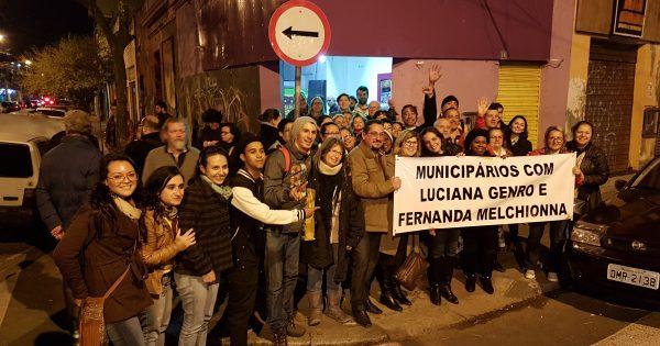 Municipários apresentam propostas ao plano de governo de Luciana Genro