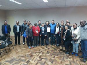 Candidata acolheu demandas da comunidade | Foto: Alvaro Andrade/PSOL