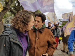Nas conversas, muito estímulo e desejo de mudança | Foto: Alvaro Andrade/PSOL
