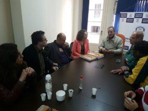 Entidades saudaram diálogo de Luciana com o setor | Foto: Alvaro Andrade/PSOL