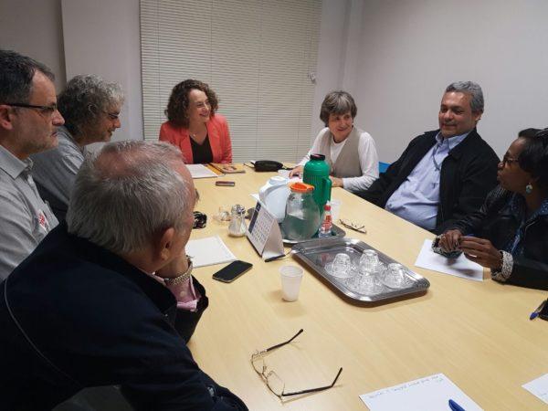 Aplicação da tecnologia da informação no dia-dia da cidade foi debatida com servidores | Foto: Alvaro Andrade/PSOL