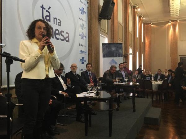 Luciana Genro participou de painel da Federasul | Foto: Samir Oliveira/PSOL