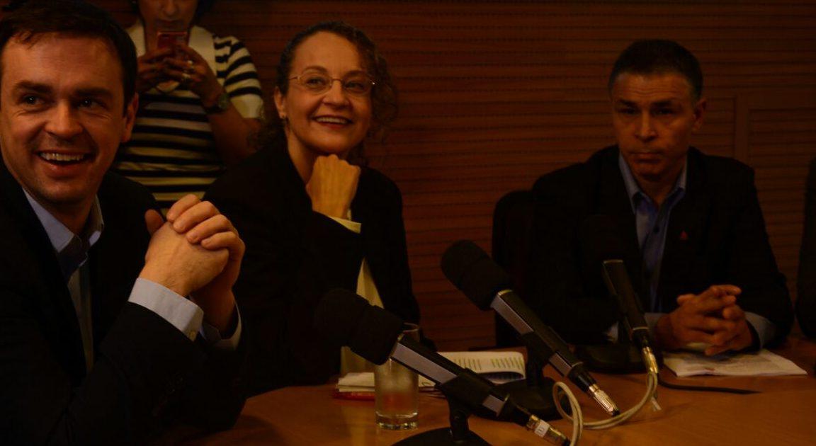 Luciana no debate da gaúcha