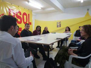 Demandas foram recebidas em encontro no comitê do PSOL | Foto: Alvaro Andrade/PSOL
