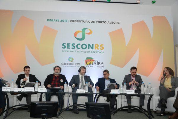 Candidatos debateram por quase três horas | Foto: Fernanda Piccolo/PSOL