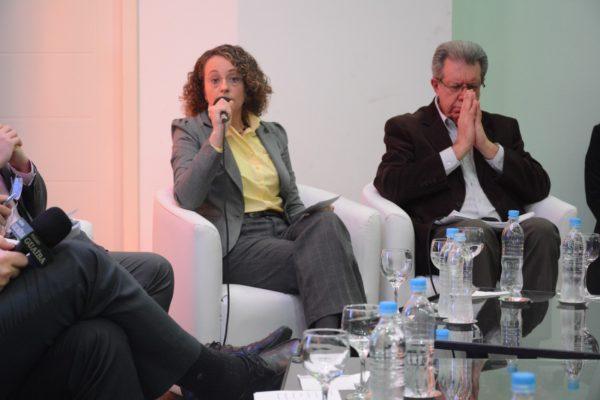 Luciana foi a mais proposta do debate no SESCON/RS | Foto: Fernanda Piccolo/PSOL