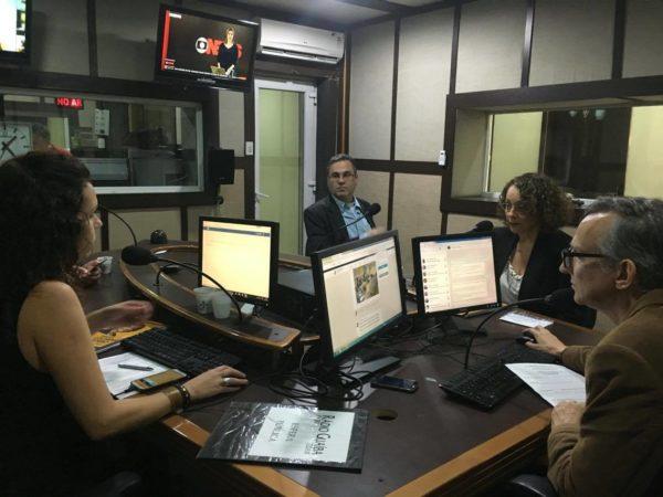 Luciana detalhou propostas por quase 1h | Foto: Samir Oliveira/PSOL