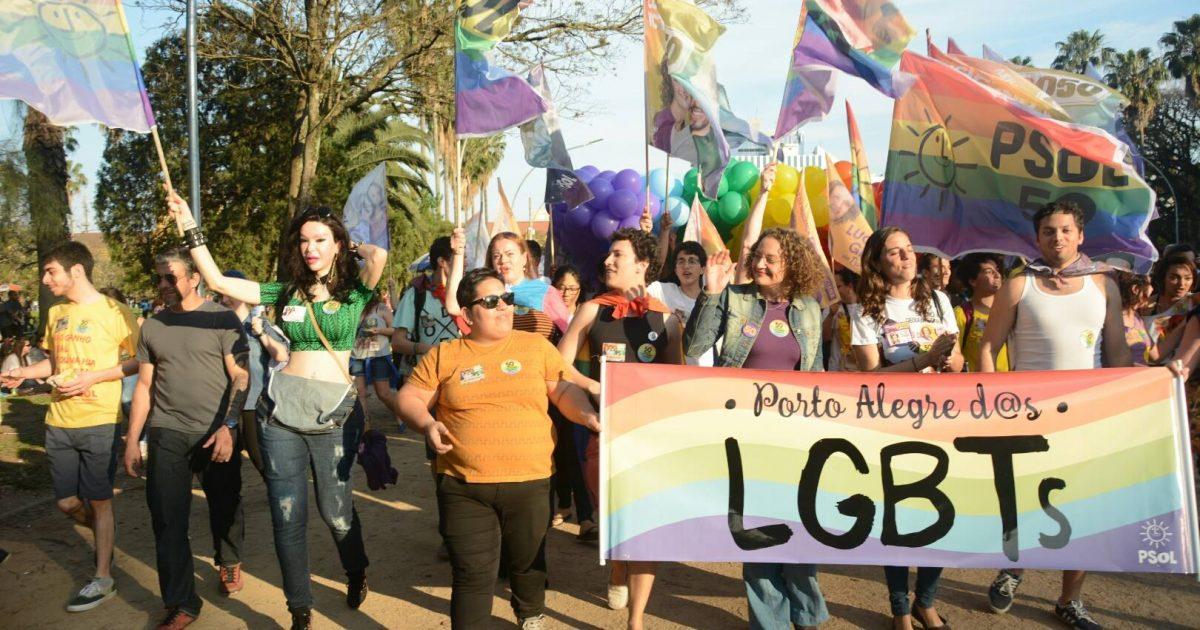 Caminhada LGBT com Luciana Genro