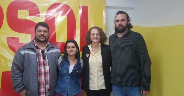 Luciana Genro firma compromisso com coletivos da mídia alternativa