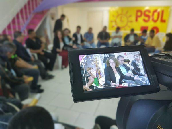 Diálogo sobre transporte público envolveu rodoviários de diversas empresas | Foto: Alvaro Andrade/PSOL