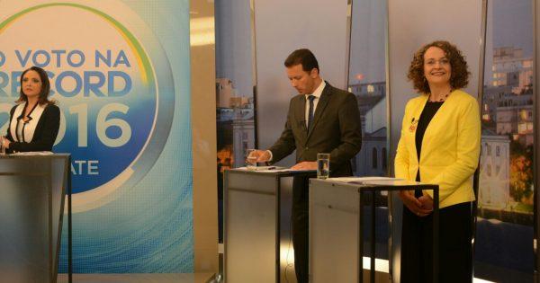 Luciana apresenta propostas a Porto Alegre e denuncia ataques do governo Temer em debate na Record