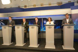 Candidatos debateram por quase duas horas | Foto: Fernanda Piccolo/PSOL