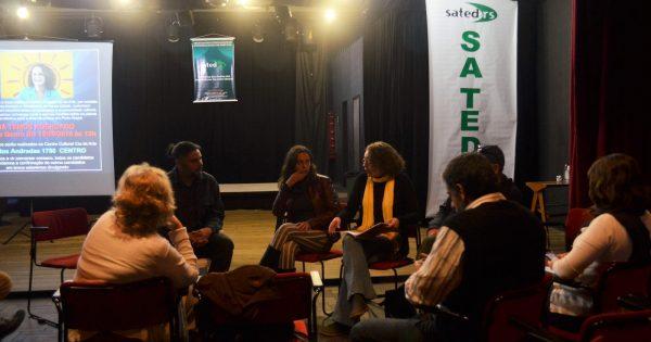Em encontro com artistas, Luciana reafirma compromisso com investimentos e descentralização da cultura