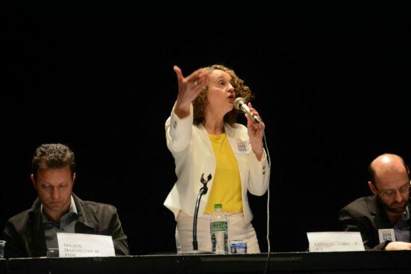 Luciana defendeu valorização do SUS | Foto: Fernanda Piccolo/PSOL