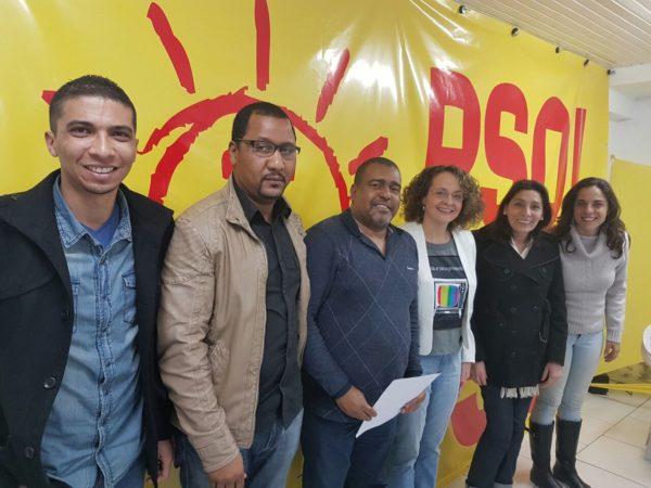 Carnavalescos apresentaram demandas a Luciana | Foto: Alvaro Andrade/PSOL