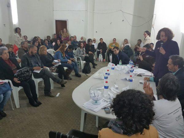 Políticas para economia solidária foram detalhadas por Luciana | Foto: Alvaro Andrade/PSOL