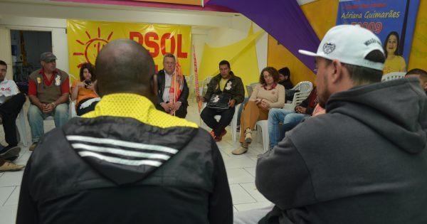 Artistas do Hip Hop apresentam demandas e expressam apoio a Luciana Genro