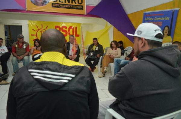 Propostas e ideias foram apresentadas para Luciana | Foto: Fernanda Piccolo/PSOL