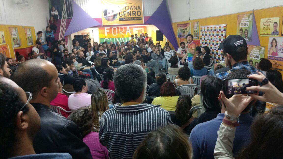 Foto: Mariana Riscali/PSOL