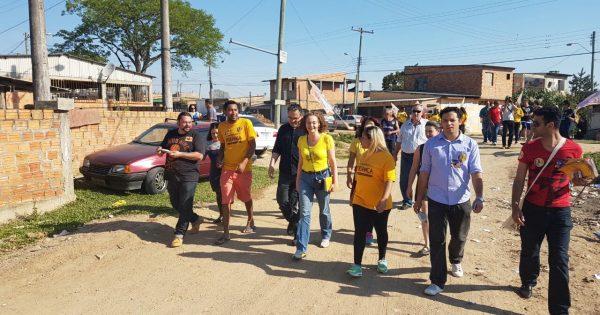 Luciana Genro intensifica diálogo com eleitores da Zona Sul de Porto Alegre