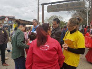 No acampamento farroupilha, colheu mais apoio entre eleitores | Foto: Alvaro Andrade/PSOL