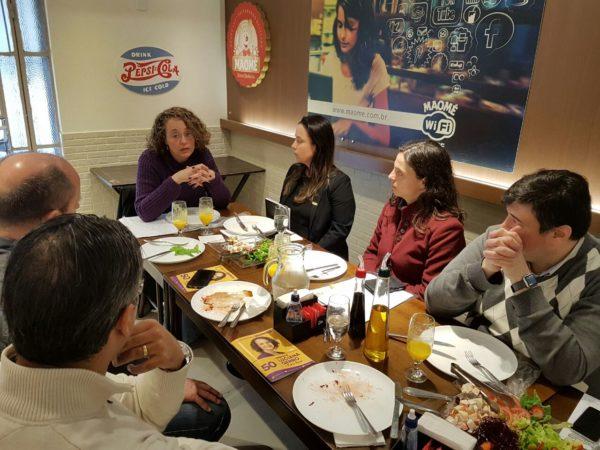Luciana abriu rodada de diálogo com o setor | Foto: Alvaro Andrade/PSOL