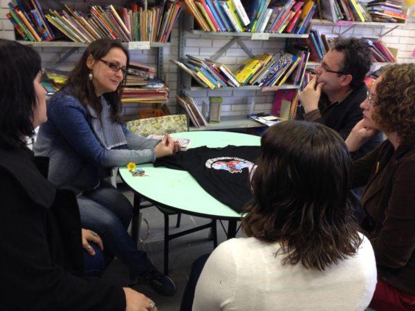 Direção da escola apresentou demandas para Luciana | Foto: Alvaro Andrade/PSOL
