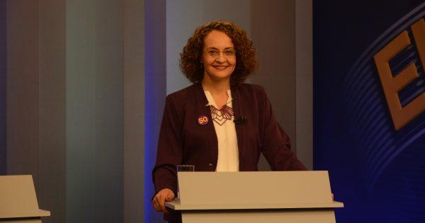 No último debate, Luciana se destaca com propostas concretas para segurança, educação e geração de renda
