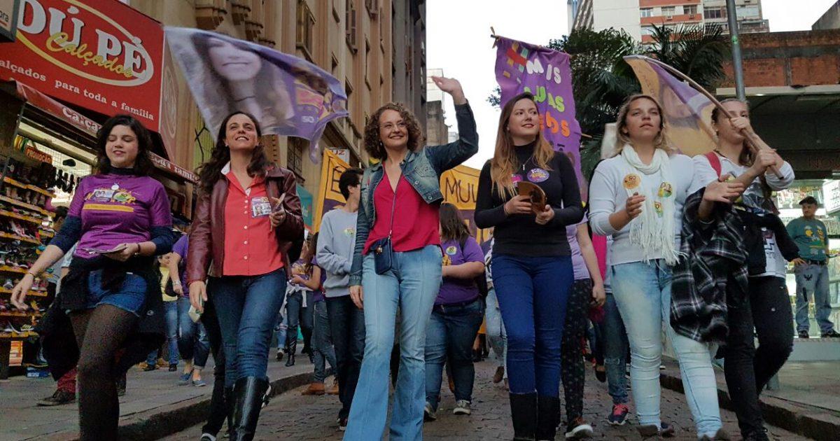 Caminhada com as mulheres