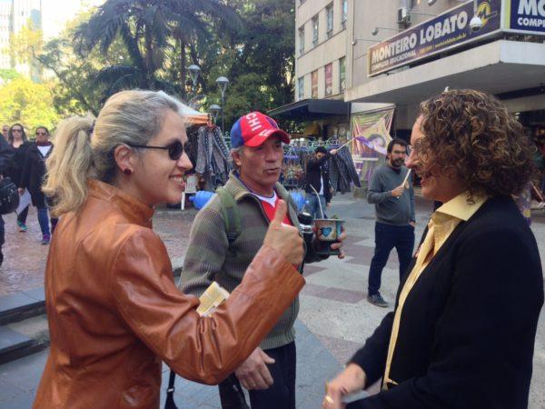 Mulheres conheceram detalhes do programa em diálogo direto com Luciana | Foto: Alvaro Andrade/PSOL