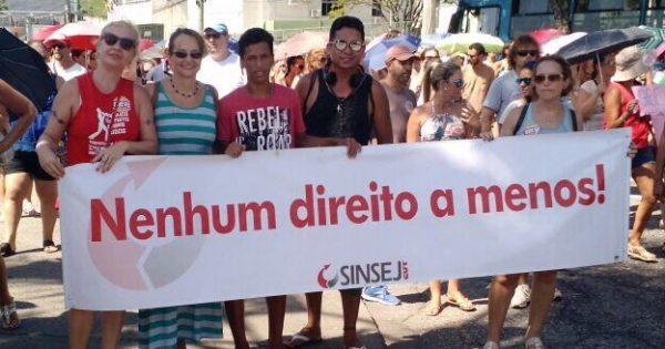 Greve dos servidores de Florianópolis é um exemplo de luta para os trabalhadores do país inteiro