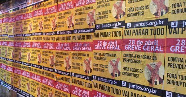 """Vinicius Torres Freire: """"A greve, muito além da esquerda"""""""