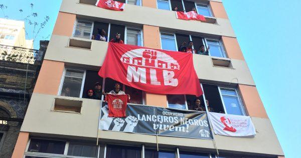 Lanceiros Negros Vivem: Nasce uma nova ocupação urbana no Centro de Porto Alegre