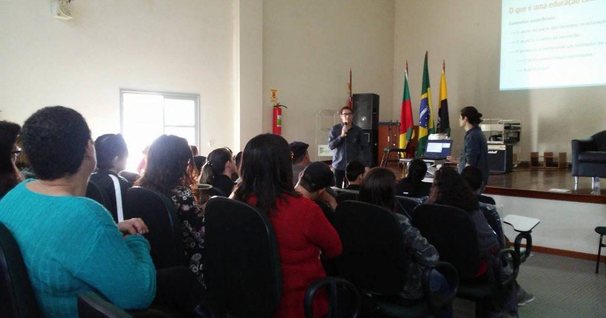 Emancipa Charqueadas aula inaugural