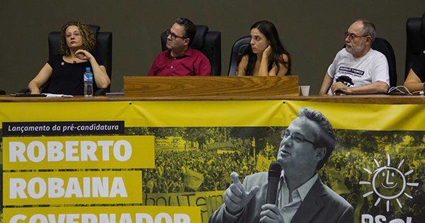 PSOL lança pré-candidatura de Roberto Robaina ao governo do Estado