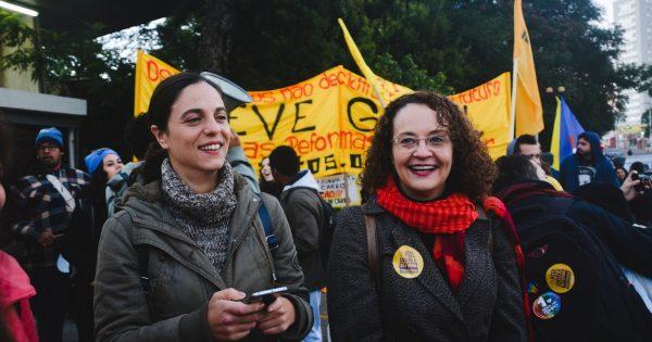 Luciana Genro e Fernanda Melchionna visitam municípios da Fronteira Oeste