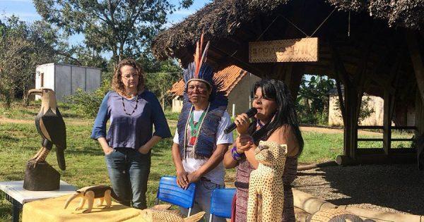 Sonia Guajajara defende demarcação de territórios indígenas em Porto Alegre
