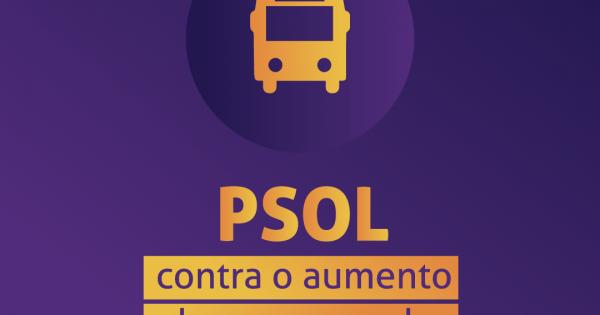 PSOL contra o aumento da tarifa do transporte intermunicipal