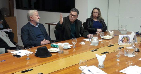 Em encontro na Ajuris, Roberto Robaina apresenta propostas ao Poder Judiciário
