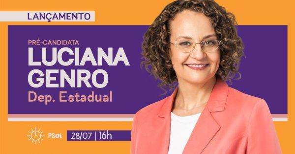 Luciana Genro é pré-candidata a Deputada Estadual