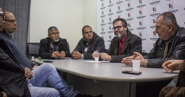 Em reunião com Sindisaúde-RS, Robaina ouviu denúncias de corrupção nas terceirizações na saúde