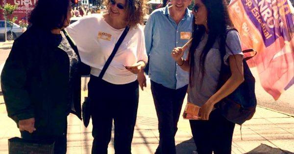 Panfletagem em Erechim marca nova visita à cidade