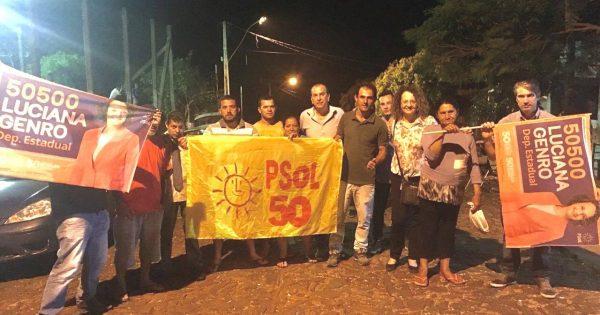 PSOL fortalece militância e construção de uma alternativa em Crissiumal