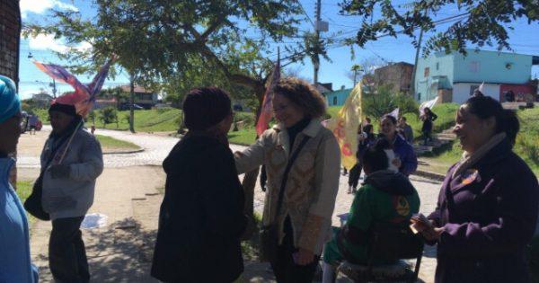 Restinga recebe comitê de Luciana Genro e caminhada em Porto Alegre
