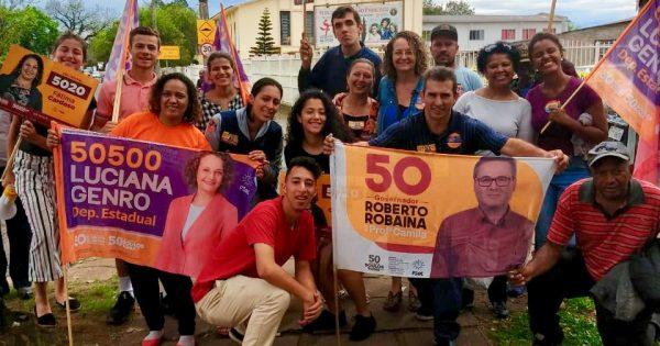 Domingo de Santa Rosa de Lima, Rubem Berta e Redenção